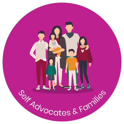 Self advocates and families